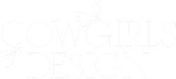 COWGIRLS DESIGN Logo