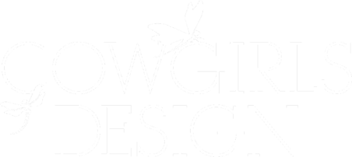 COWGIRLS DESIGN Retina Logo