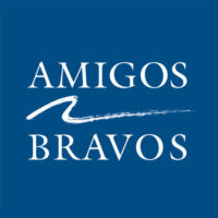 logo design by Cowgirls Designs for Amigos Bravos Non Profit in Taos, New Mexico