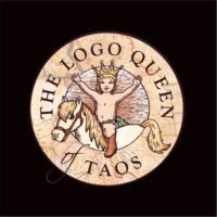 logo and brand development by Cowgirls Designs for Logo Queen of Taos