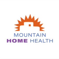 Mountain Home Health logo design