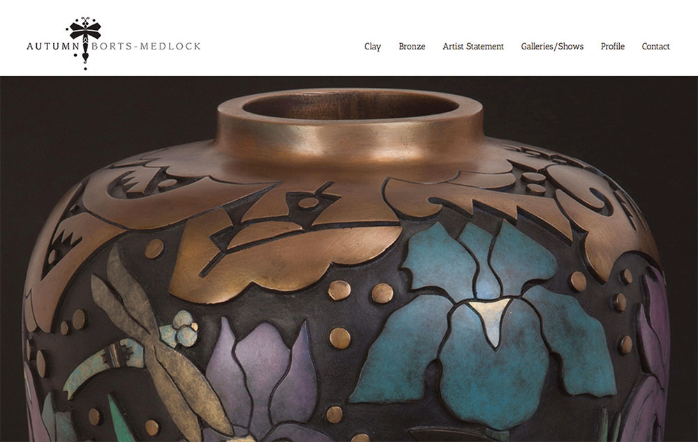 web site design for potter